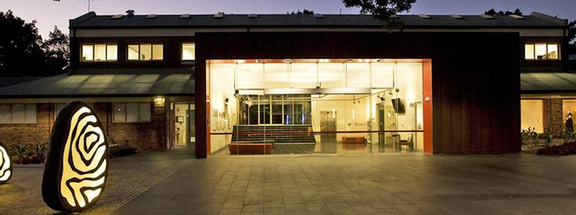 Photo of entrance of Bankstown Arts Centre