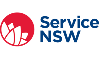 Logo for Service NSW