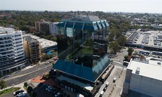 Aerial Photo of Civic Tower Bankstown