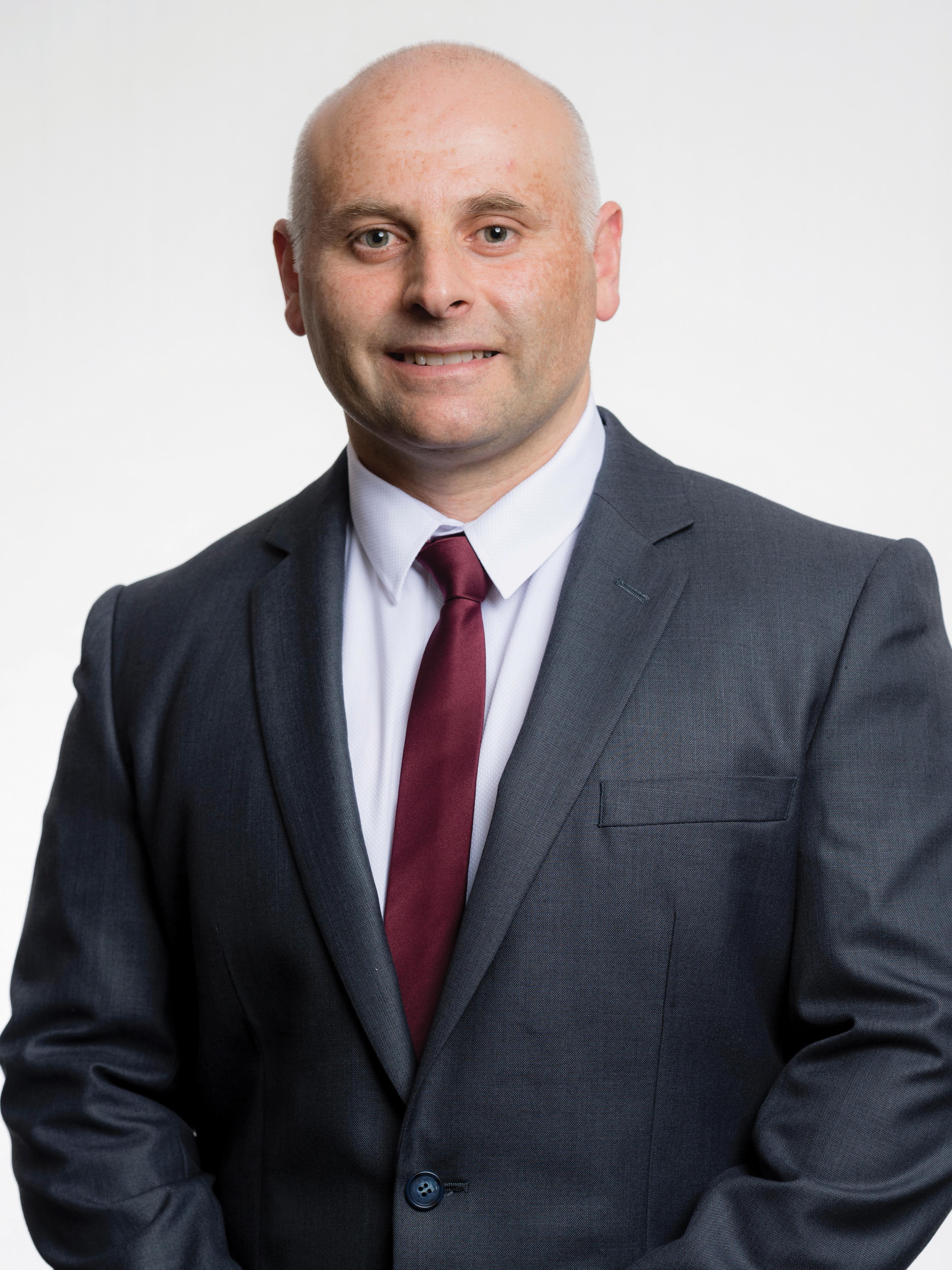 Councillor Steve Tuntevski