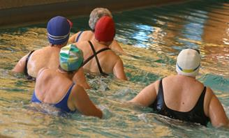 Photo of women at Wran Aquatic Centre