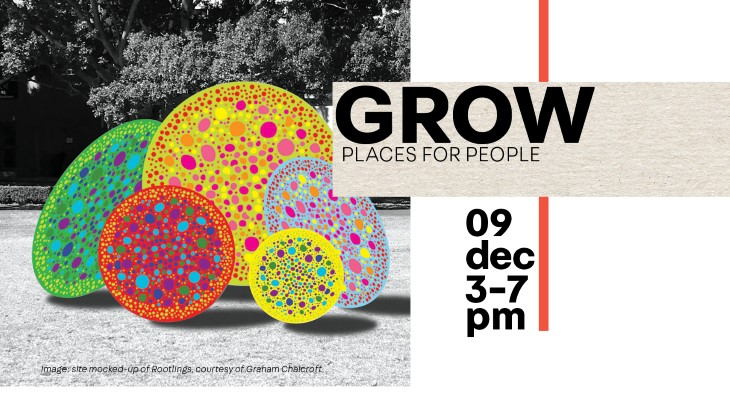 Image of GROW exhibition banner