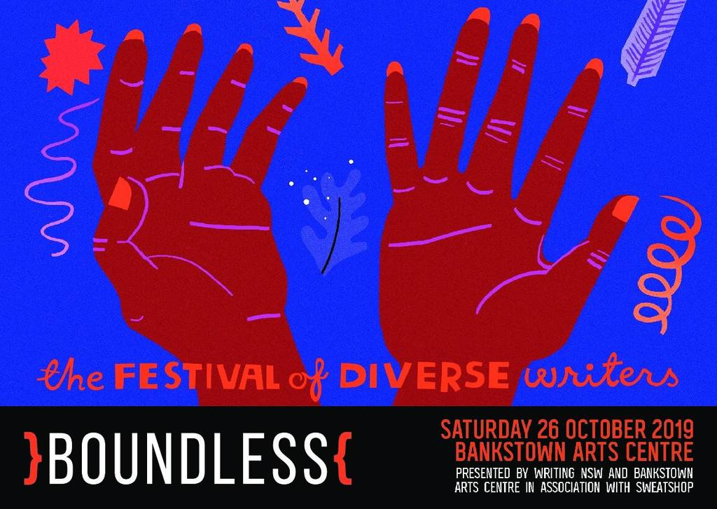 Promotional material for Boundless festival