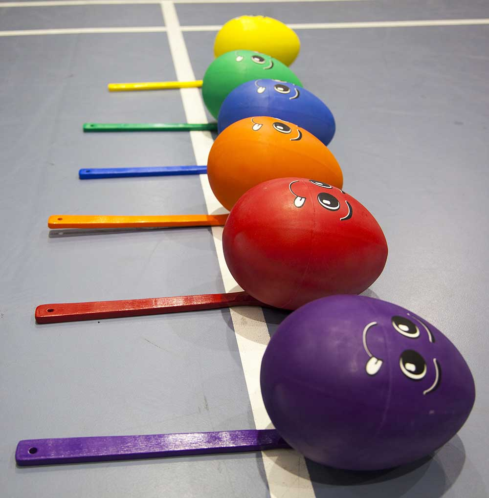 Photo of fitness equipment for children
