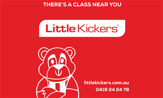 Banner for Little Kickers program