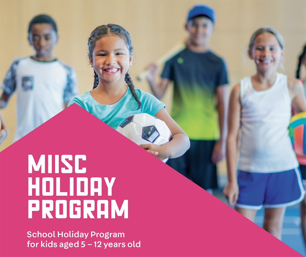 Photo of school holiday program banner