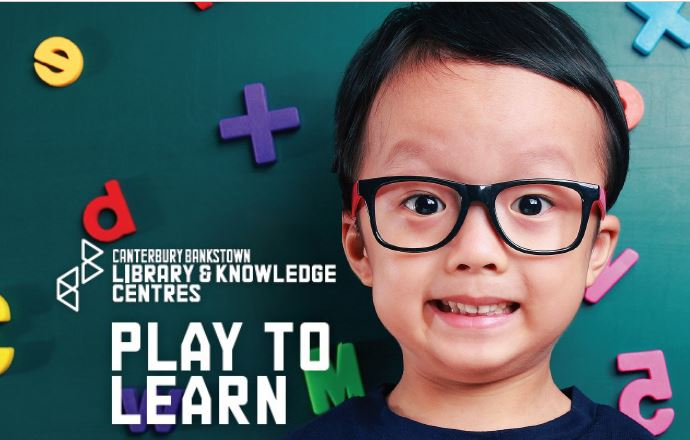 Play to learn program banner