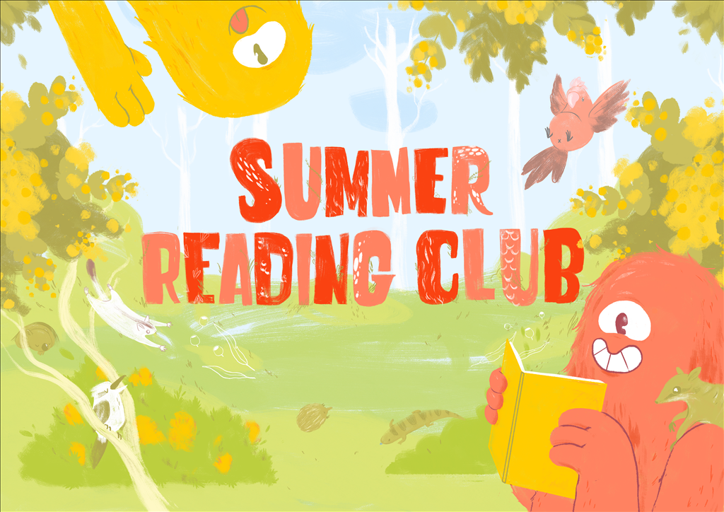 Banner for Summer Reading Club 2018