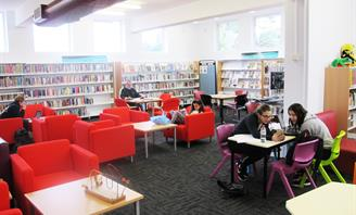 Photo of interior of Earlwood Library