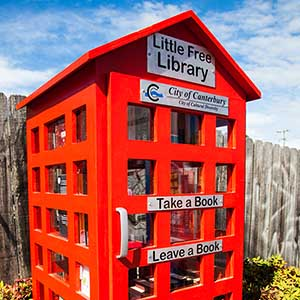 Photo of the Little Free Library