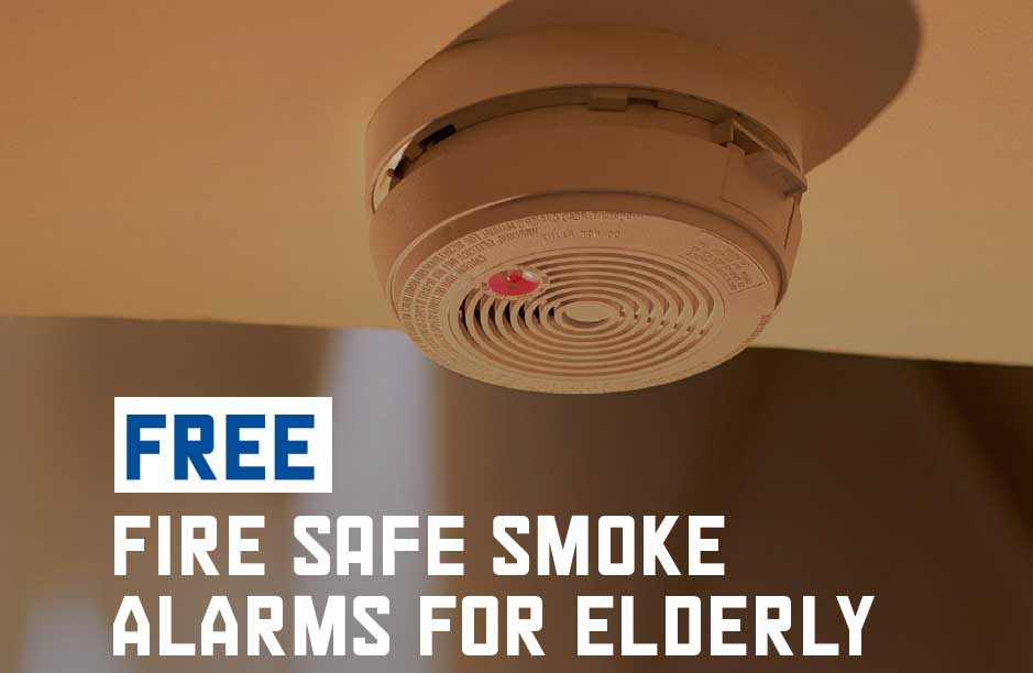 Photo of smoke alarm poster