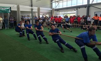 Photo of Tug of War participants