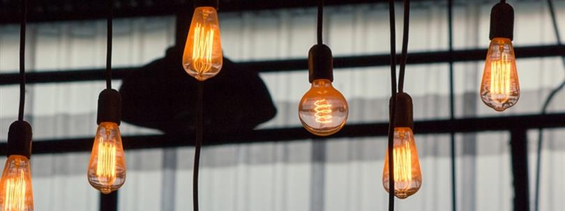 Photo of light bulbs