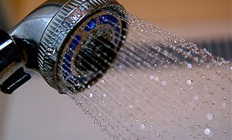 Photo of a water efficient Shower Head