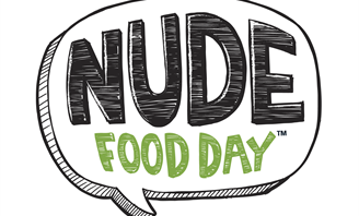 Nude Food Day logo
