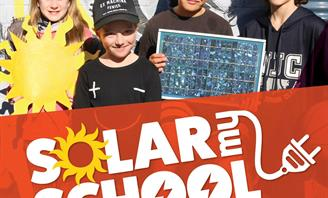 Solar my school promotional poster