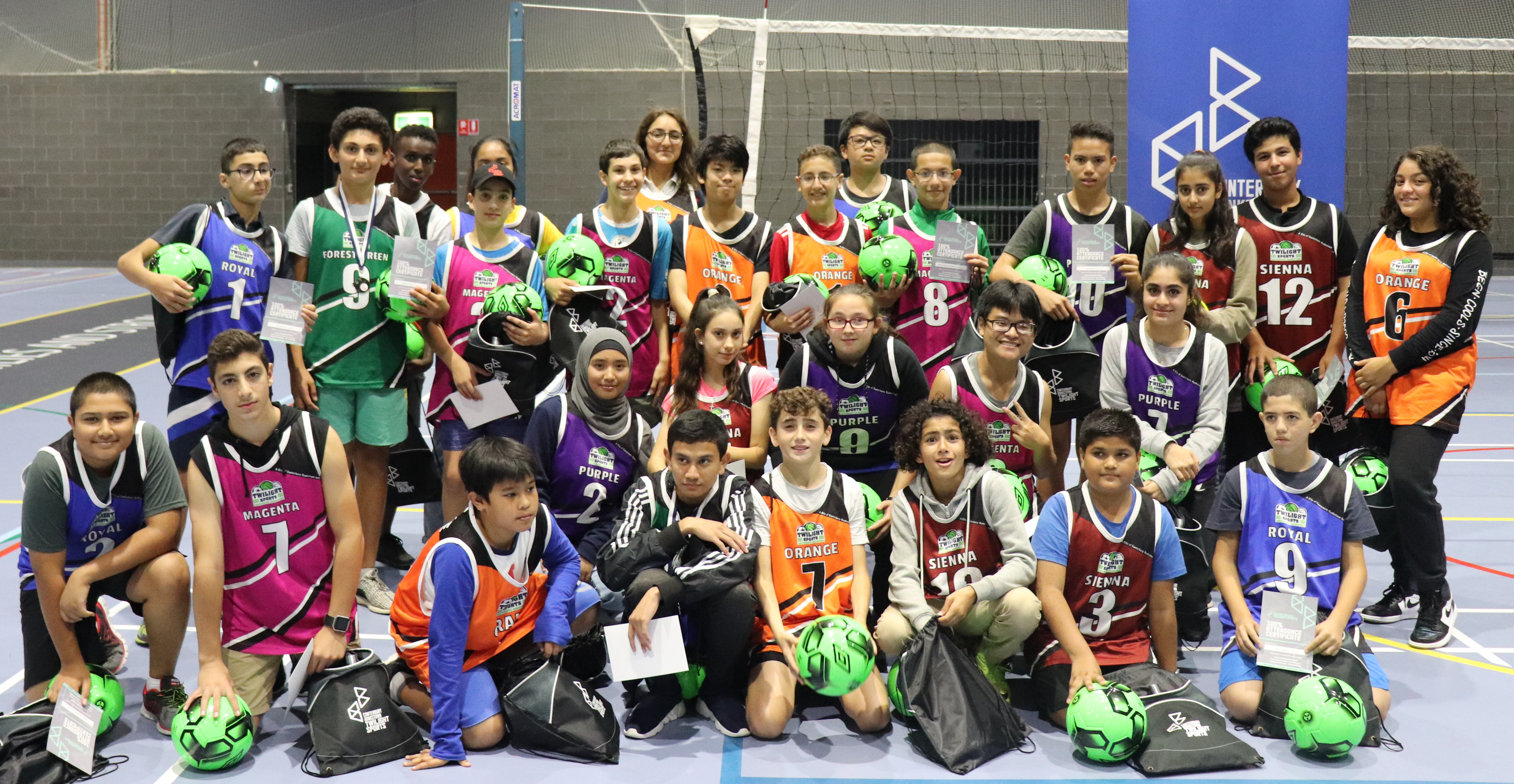 Photo Twilight Sports participants
